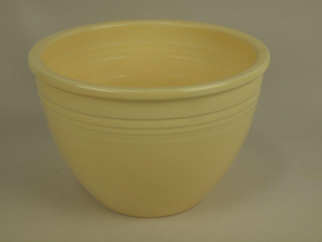 Fiesta #4 mixing bowl, ivory, utensil wear