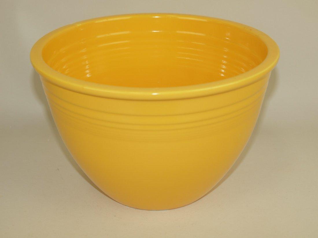 Fiesta #5 mixing bowl, yellow