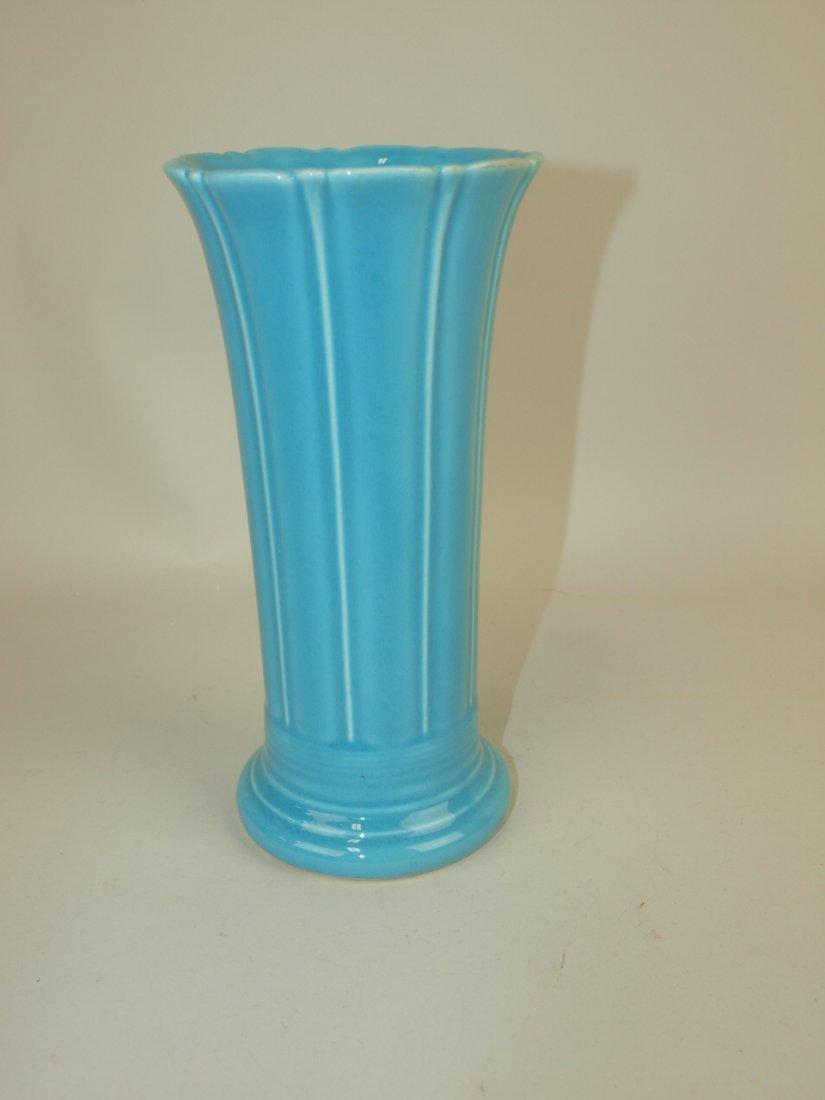 "Fiesta 8"" flower vase, turquoise, mint"
