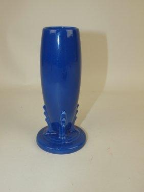Fiesta Bud Vase, Cobalt