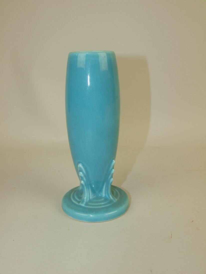 Fiesta bud vase, turquoise