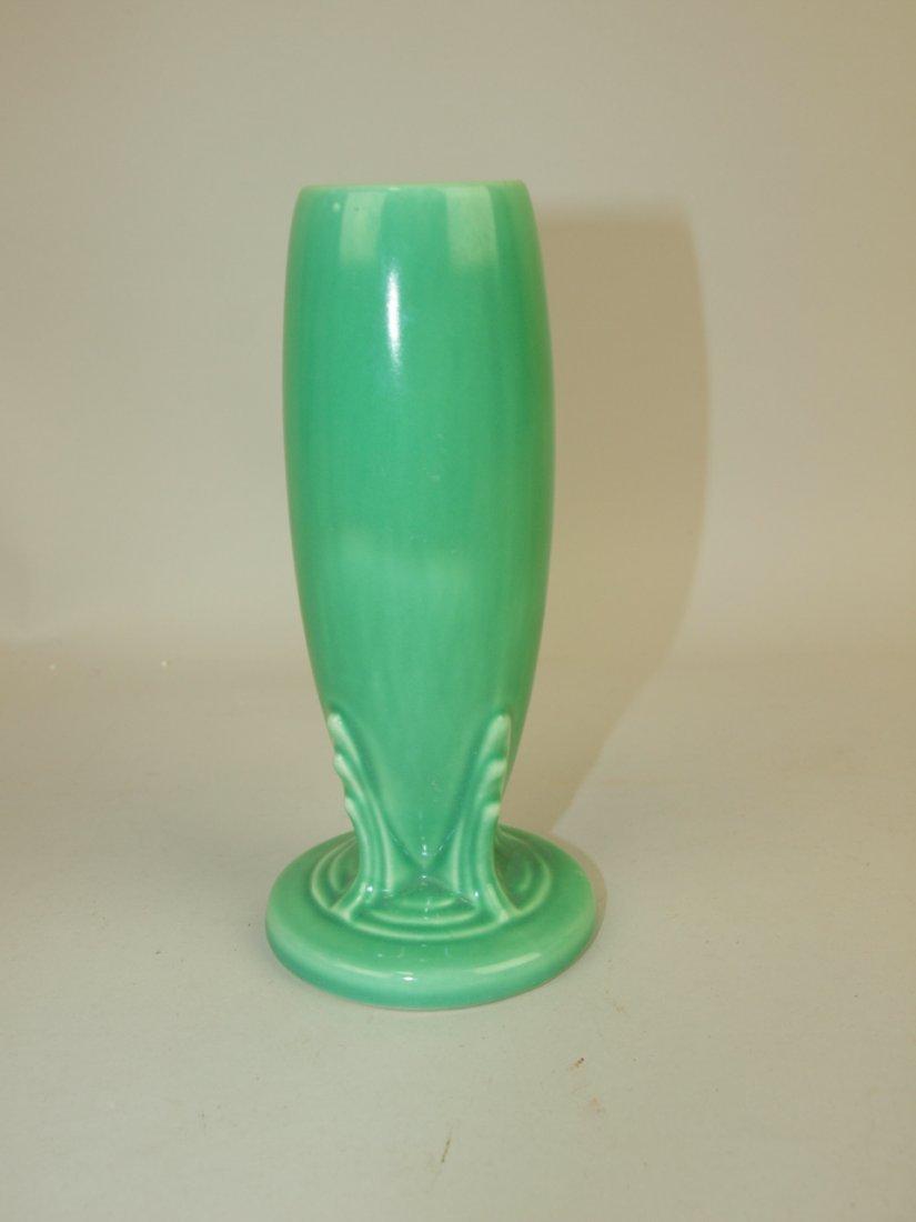 Fiesta bud vase, green