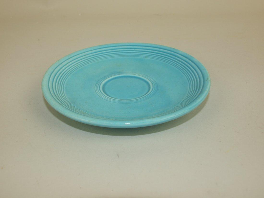 Fiesta demitasse saucer, turquoise