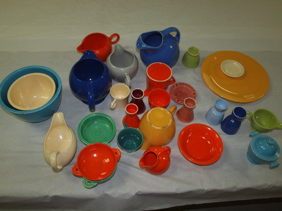 Fiesta lot of 27 pieces, various conditions