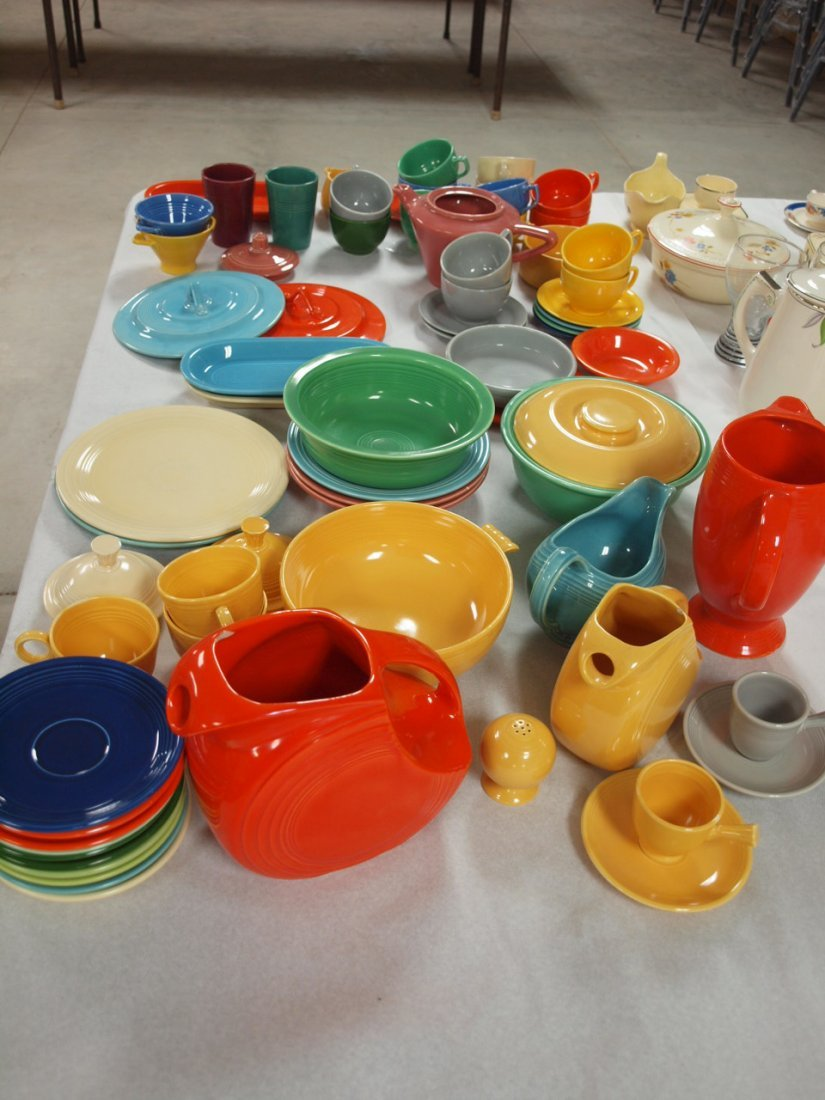Fiesta lot of 71 pieces, various conditions