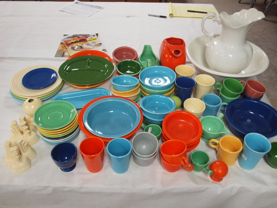 Fiesta lot of 72 pieces, various conditions