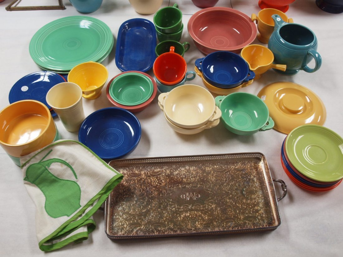 Fiesta lot of 35 pieces, various conditions
