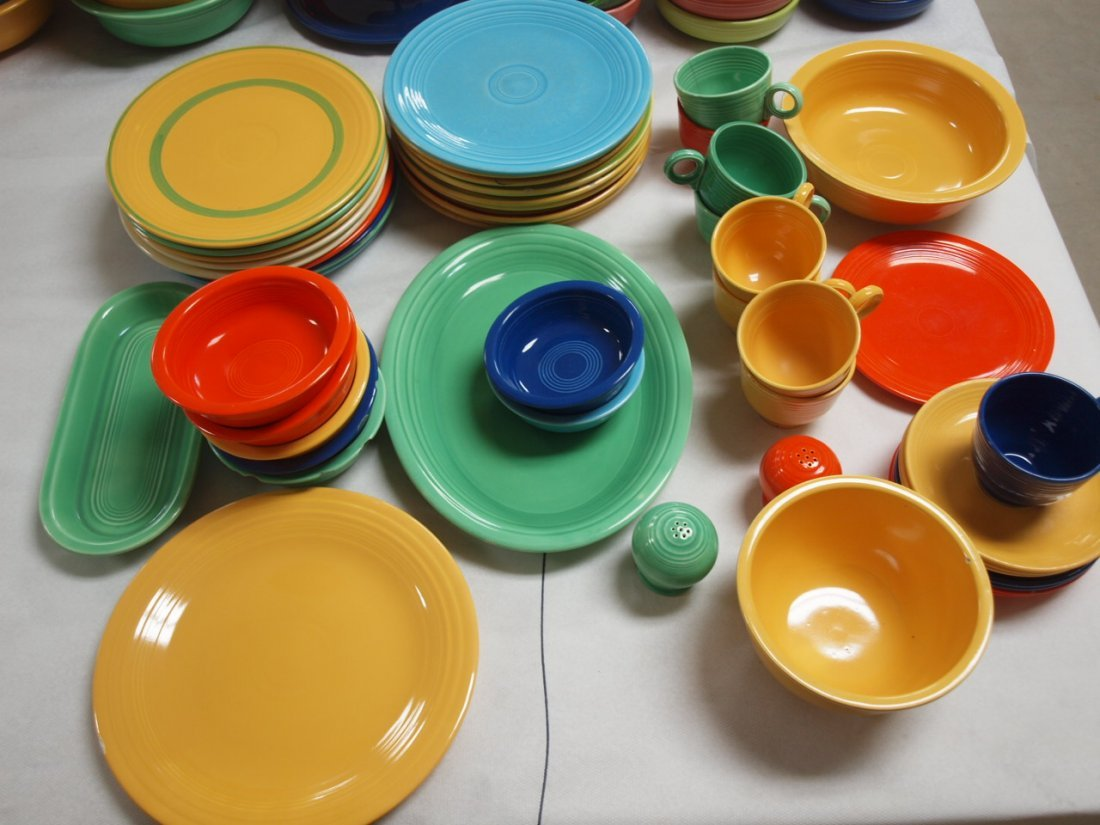 Fiesta lot of 49 pieces, various conditions