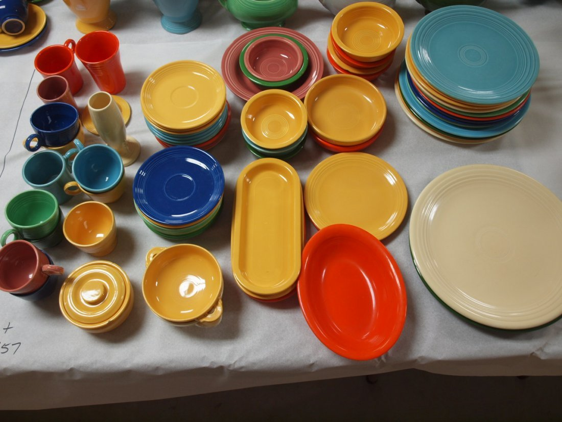 Fiesta lot of 74 pieces, various conditions