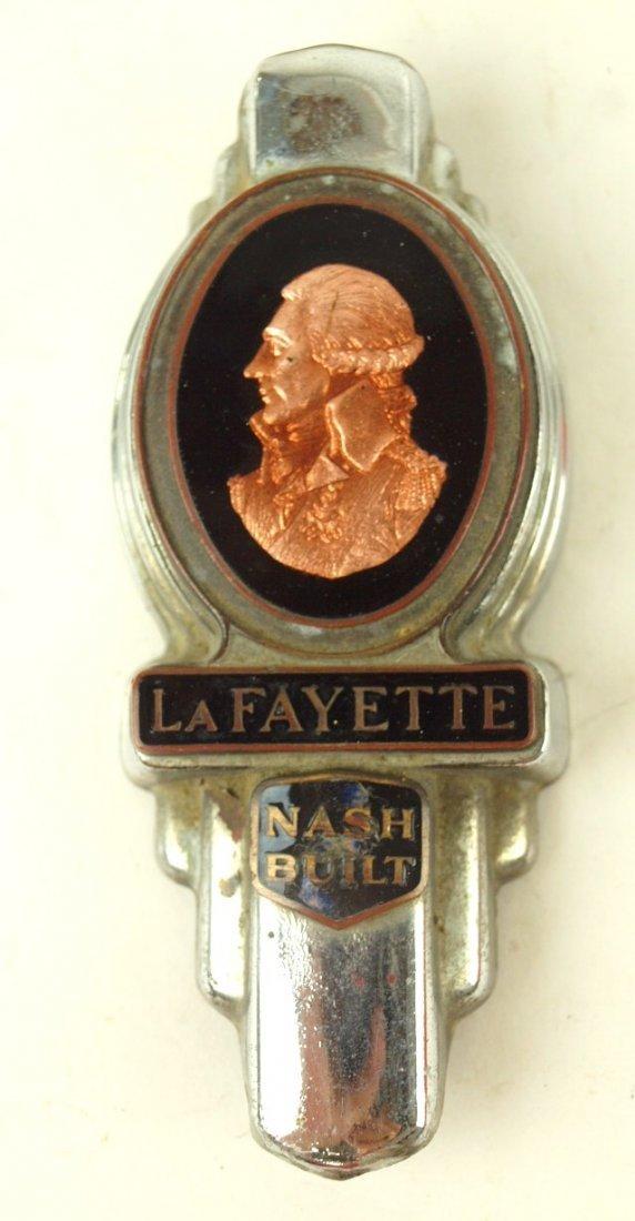 LaFayette Nash built radiator badge emblem