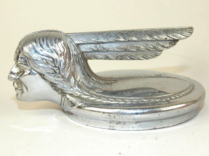 1931 Pontiac hood ornament radiator cap