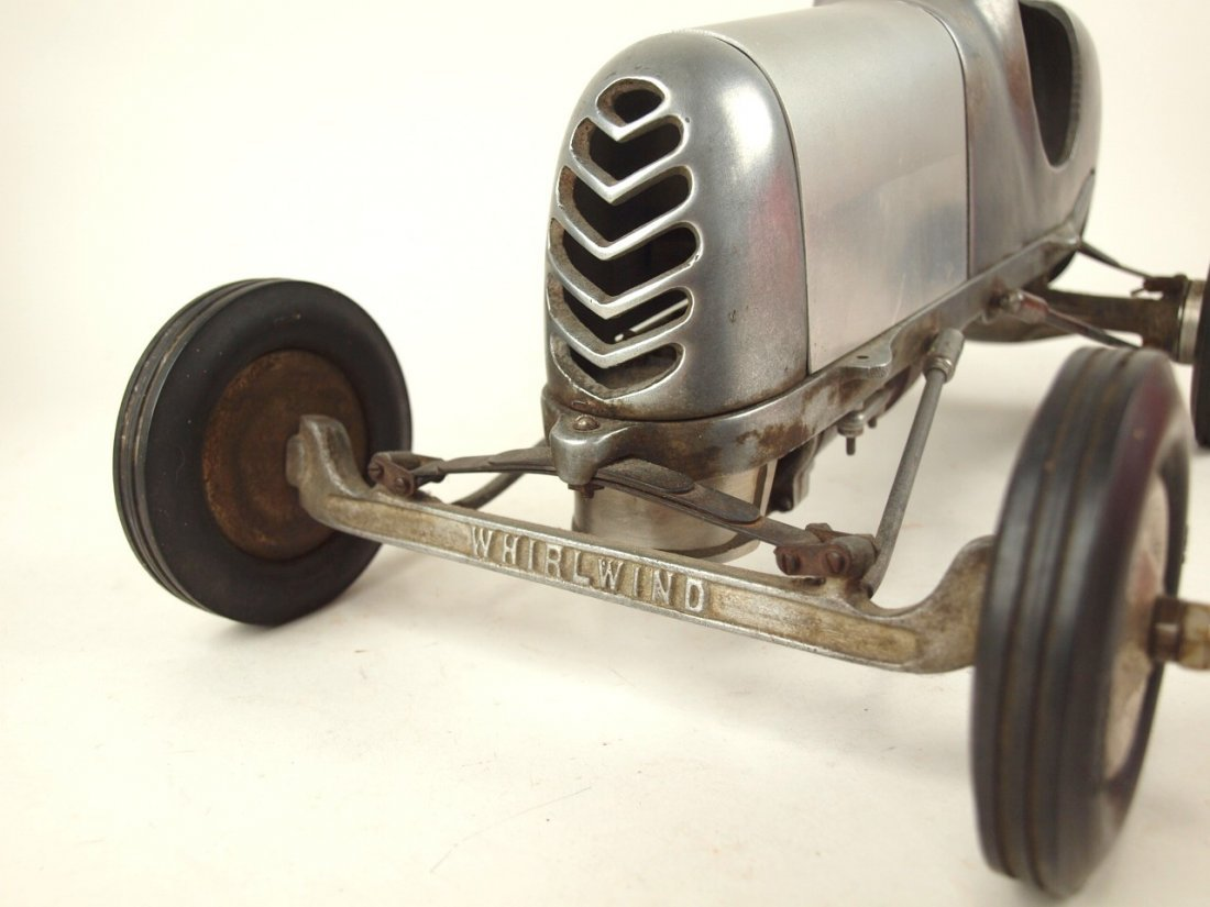 "RARE Bremer Whirlwind Tether race car engine, 17 1/2"" - 2"