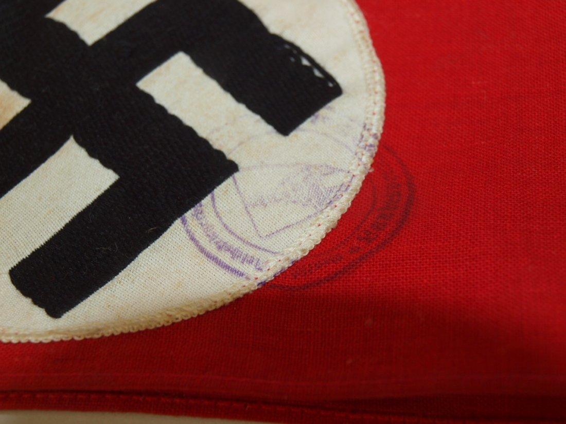 "German Nazi Hitler ceramic plaque (chip to base) 7""h - 3"