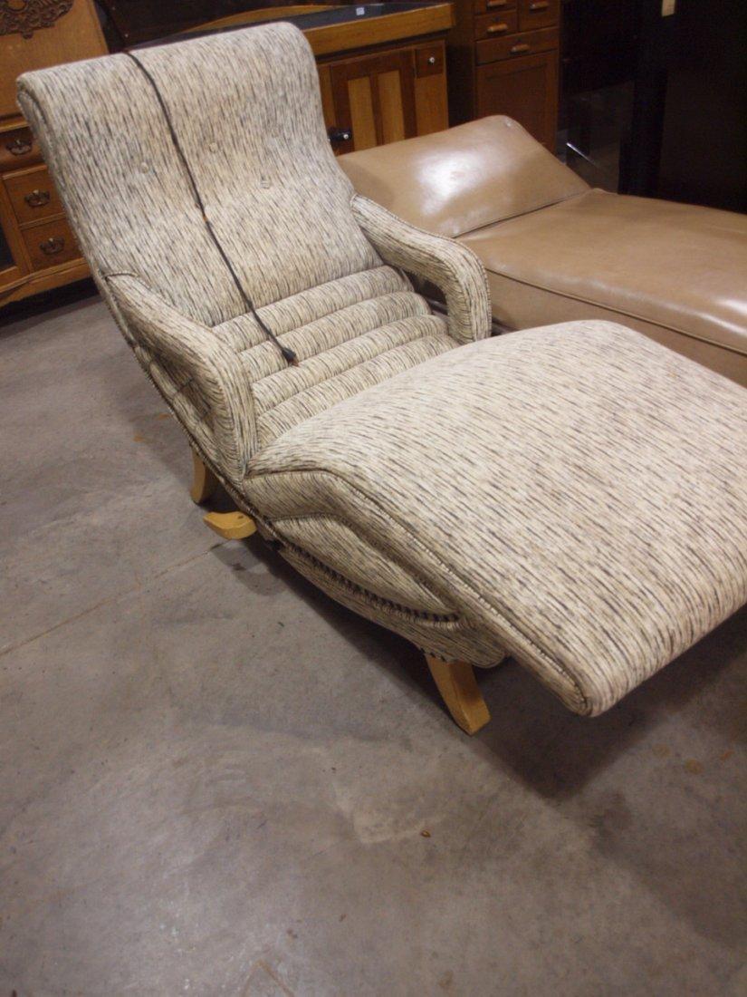 Mid century modern contour lounge massage chair works, - 2