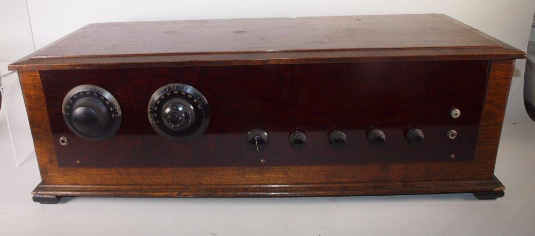 "Radio Industries Tropaformer tube radio 32 1/2"""
