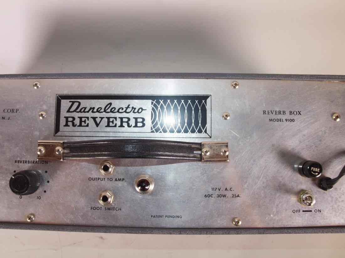 Danelectro Reverb Box Model 9100 vintage guitar amp - 2