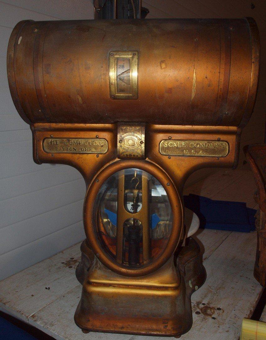 Dayton antique store scales - 2