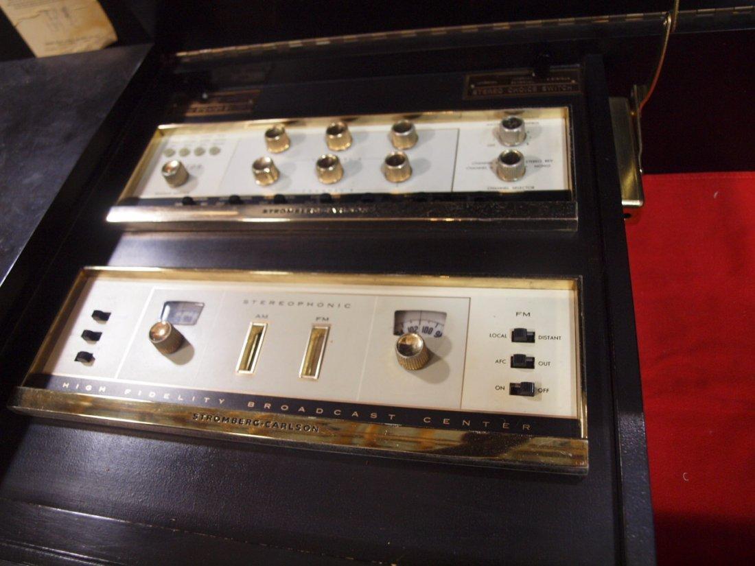 Mid century modern Stromberg Carlson console stereo, - 2