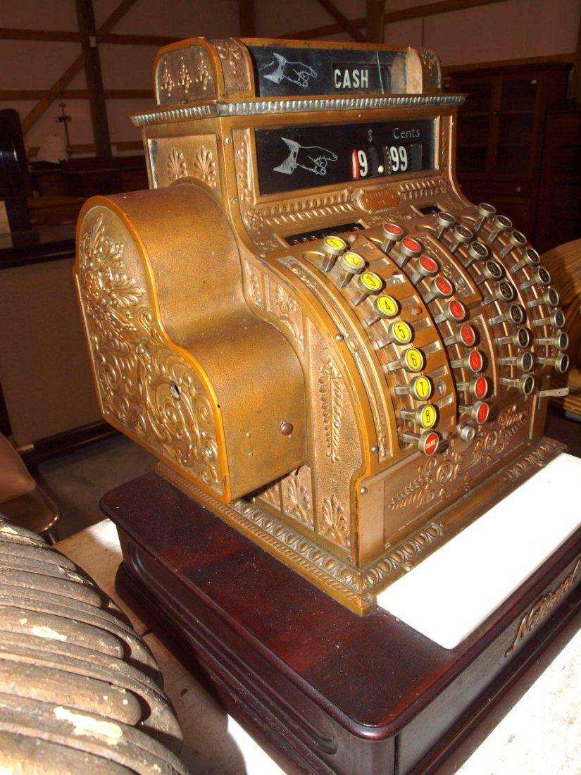 """National Brass cash register #441, 20""""w, 16 1/2""""d, - 2"""