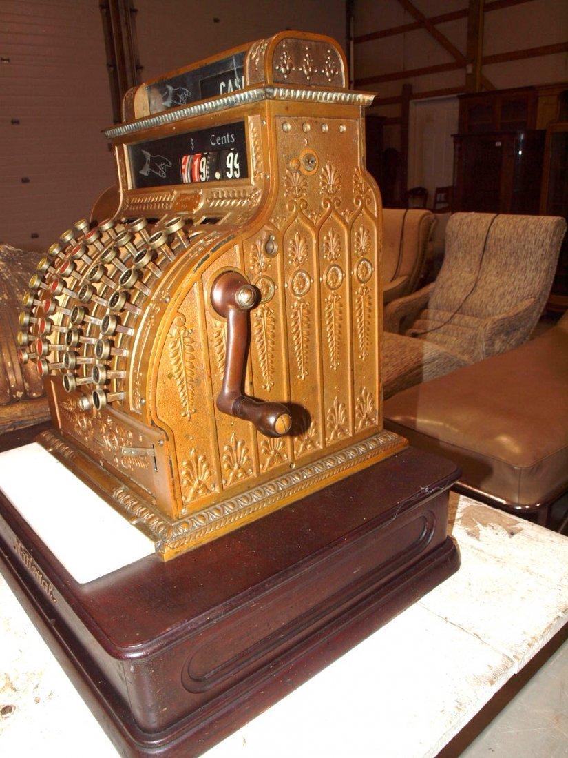 """National Brass cash register #441, 20""""w, 16 1/2""""d, - 3"""