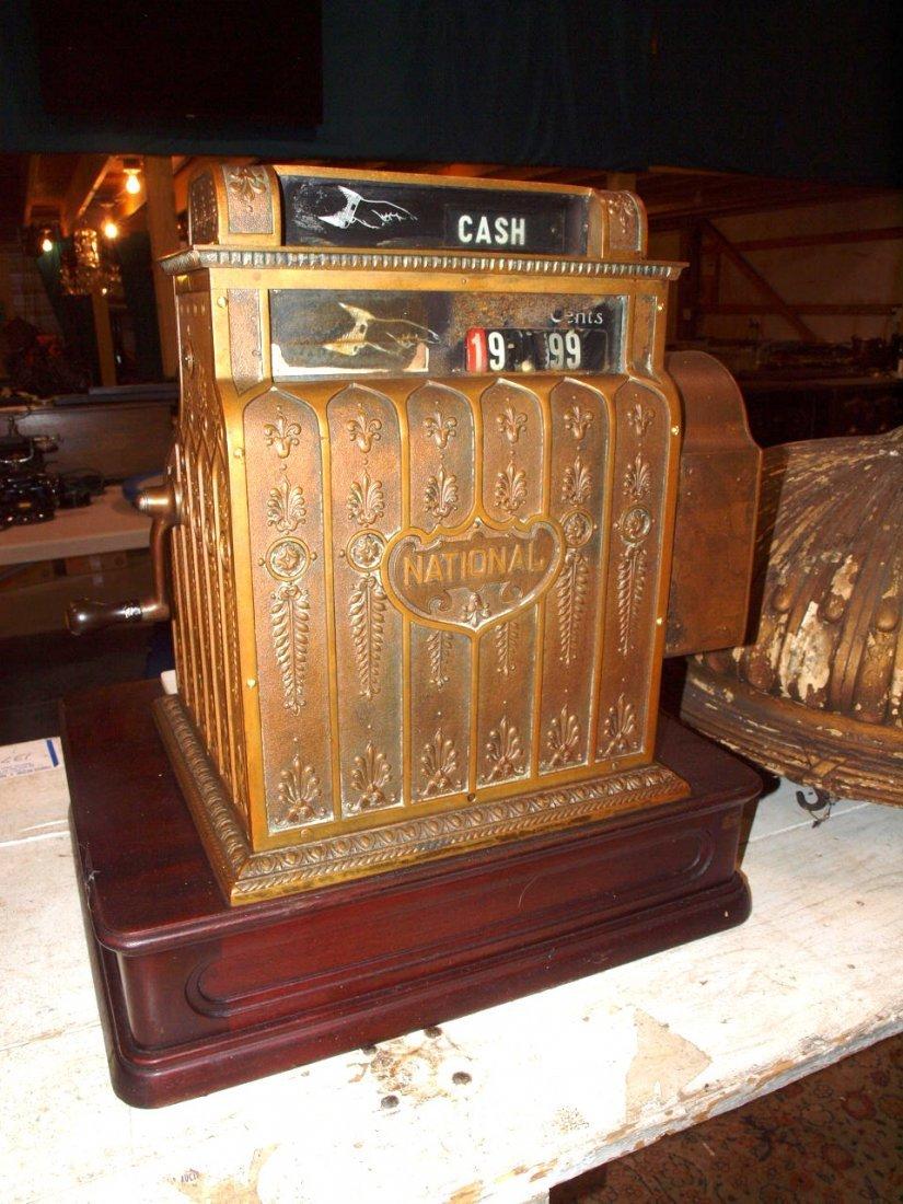 """National Brass cash register #441, 20""""w, 16 1/2""""d, - 4"""