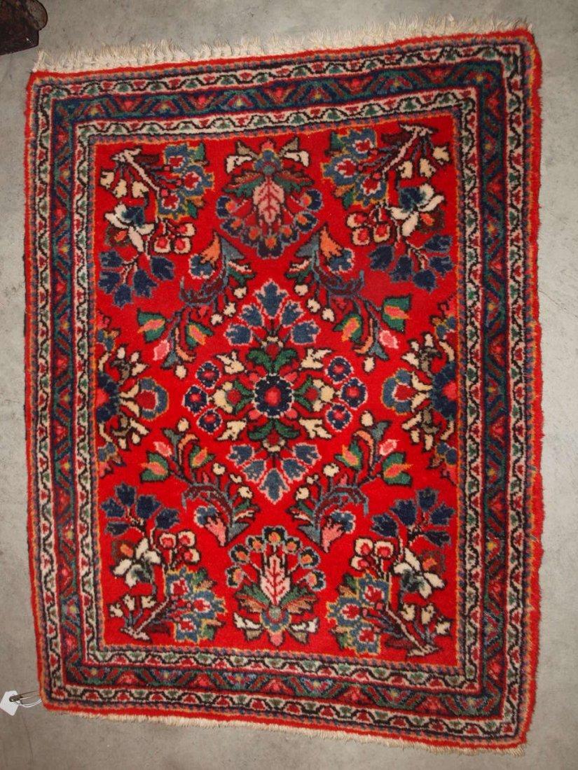 "Persian oriental rug 30"" x 22"""