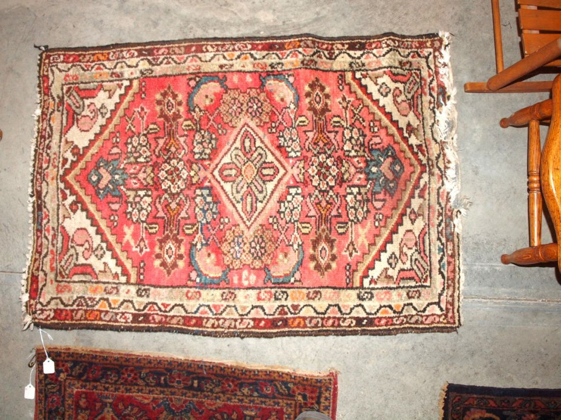 """Hamadan oriental rug 36"""" x 25"""""""