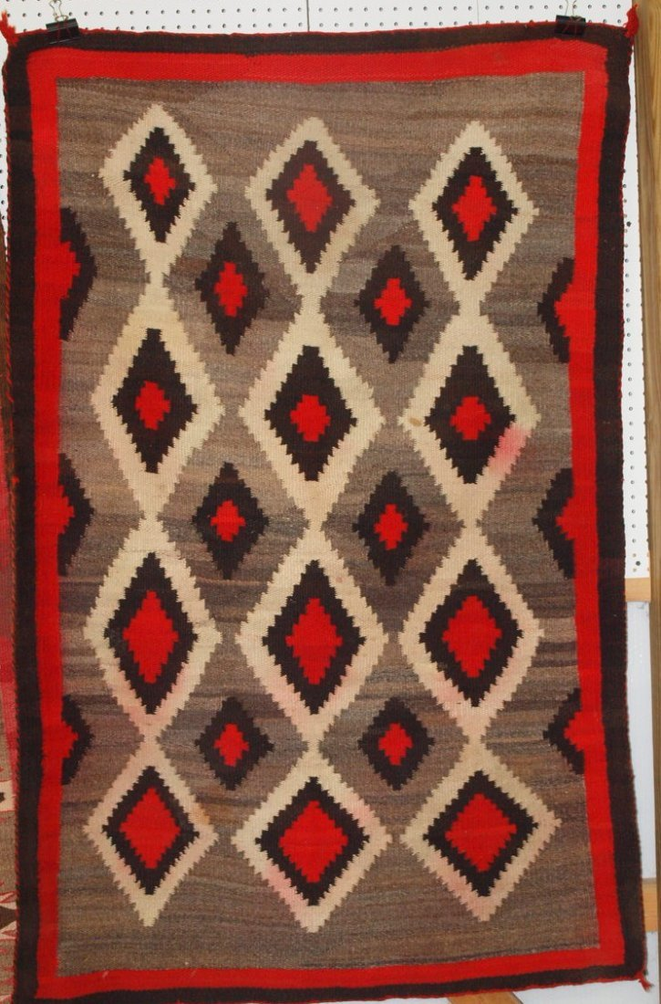 "Navajo Indian rug 41"" x 66"""