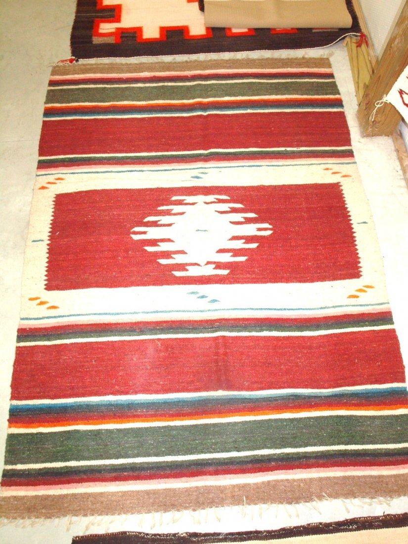 """Navajo Indian rug 55"""" x 77"""""""