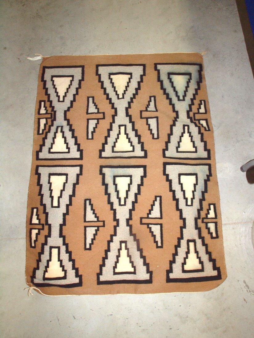 """Navajo Indian rug 35"""" x 47"""""""
