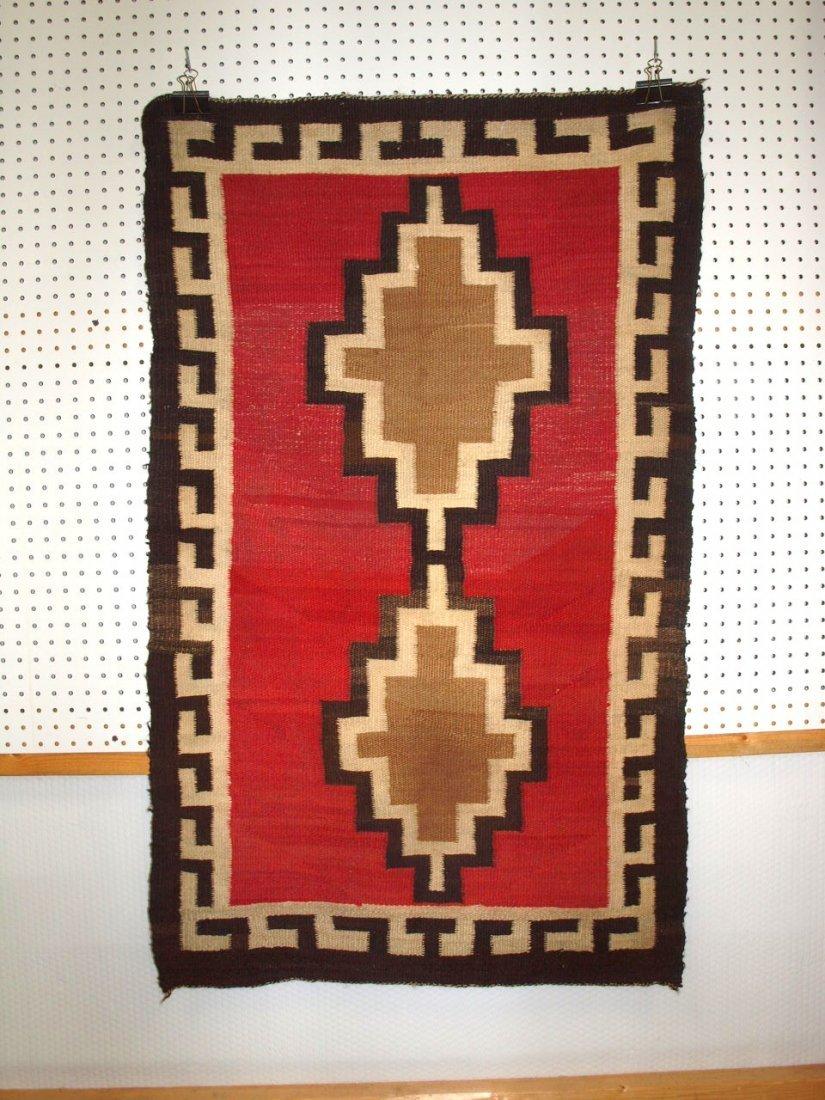 """Navajo Indian rug 31"""" x 52"""""""