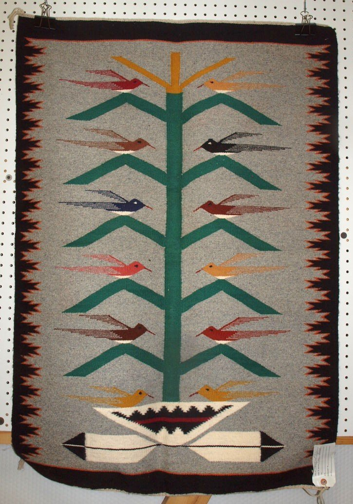 "Navajo Indian rug 31"" x 45"""