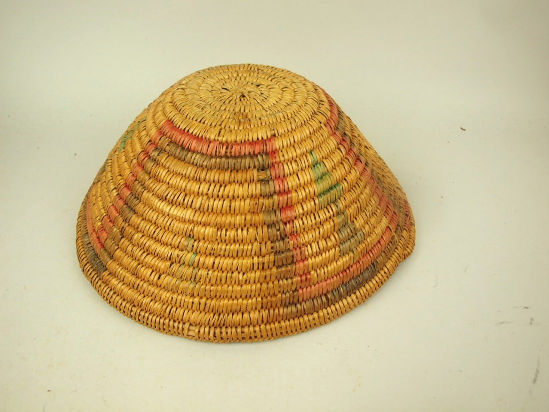 "Native American Indian basket 14"" - 2"