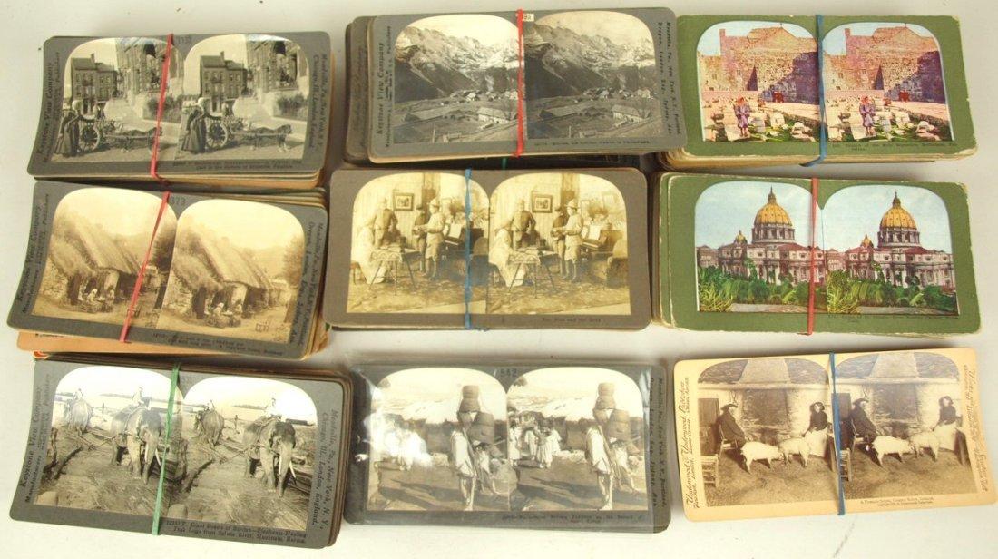 Stereoview cards: Spanish American War, Korea, Ireland,