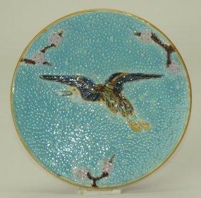 """Holdcroft flying crane plate, 8 1/2"""""""