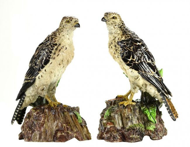 A Very Rare and Magnificent Pair of Hugo Lonitz Models