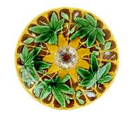 A Rare and Desirable Wedgwood Majolica Passion Flower