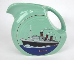 Fiesta Post 86 RARE Seamist Green 1934 Titanic juice