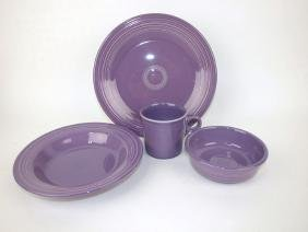 Fiesta Post 86 lilac 4 piece place setting for 4, 16
