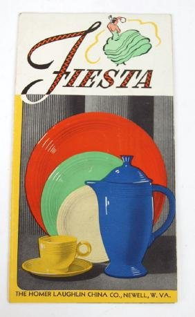 Fiesta original price list, March 15, 1937