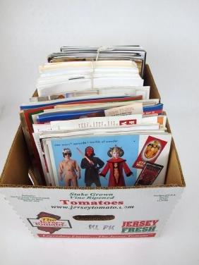 Large box Fiesta ephemera: Dish magazines, Fiesta Club