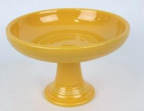 Fiesta sweets compote, yellow, marked HLC
