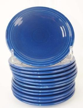 """Fiesta 6"""" plate group: 12-cobalt"""