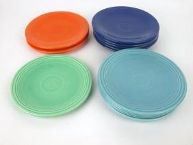 """Fiesta 6"""" plate group: 12-mixed colors"""