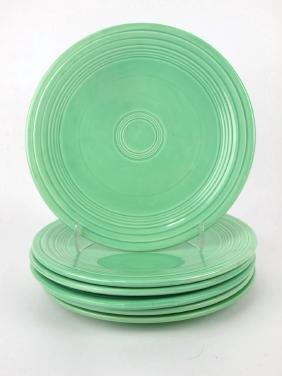 """Fiesta 9"""" plate group: 6-green"""