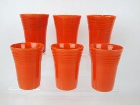 Fiesta water tumbler group: 6-red