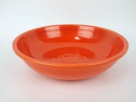 """Fiesta 11 3/4"""" fruit bowl, red"""