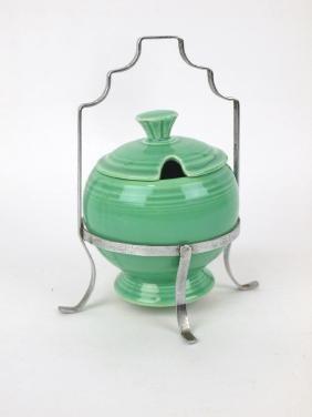Fiesta marmalade, green with chrome holder