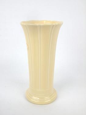 "Fiesta 8"" flower vase, ivory"