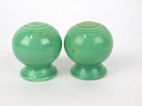 Fiesta salt & pepper pair, green